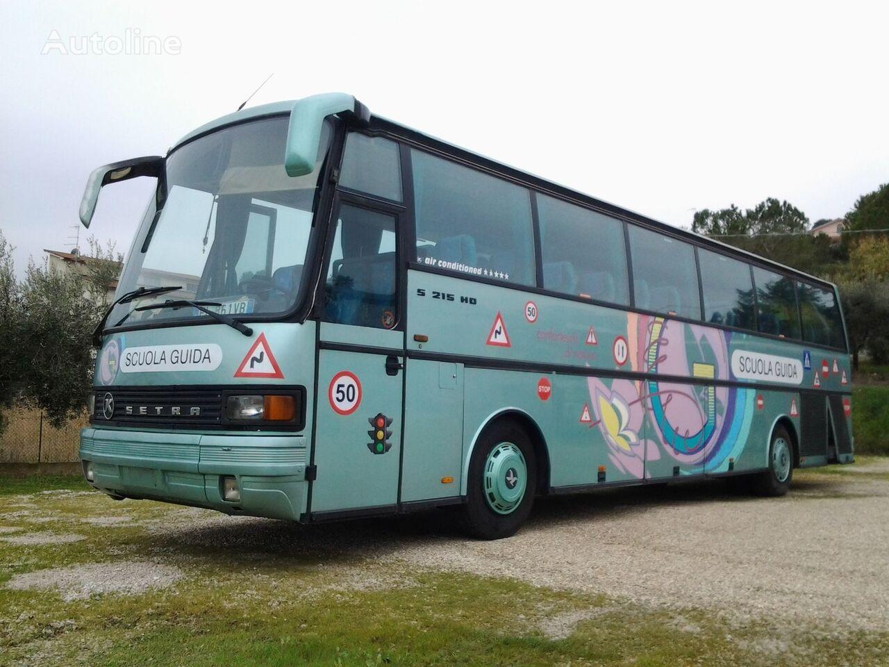 SETRA SCUOLA GUIDA / AUTOSCUOLA coach bus