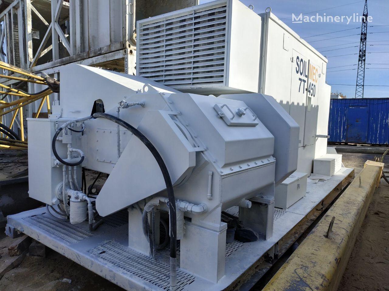 SOILMEC 7T-450 drilling rig