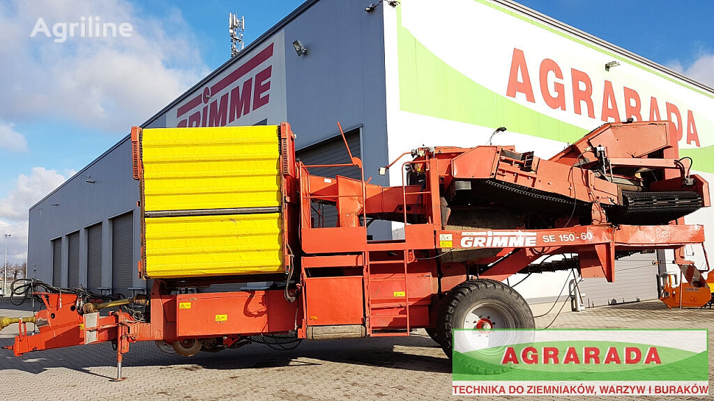 GRIMME SE 150 60 UB potato harvester