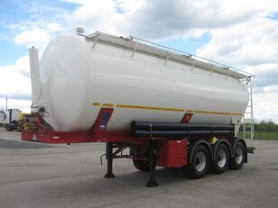 KASSBOHRER SSK TA 40 m3 sklápěcí silo tříosý silo tank trailer
