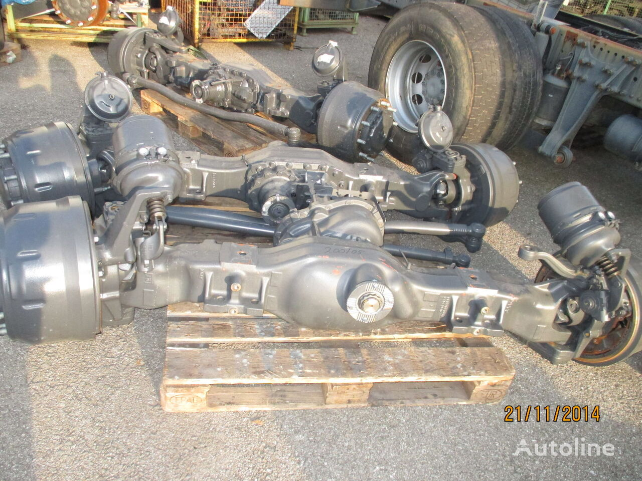 axle for MERCEDES-BENZ Actros truck