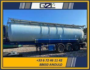 damaged LAG CITERNE 3 ESSIEUX *ACCIDENTE*DAMAGED*UNFALL* tanker trailer