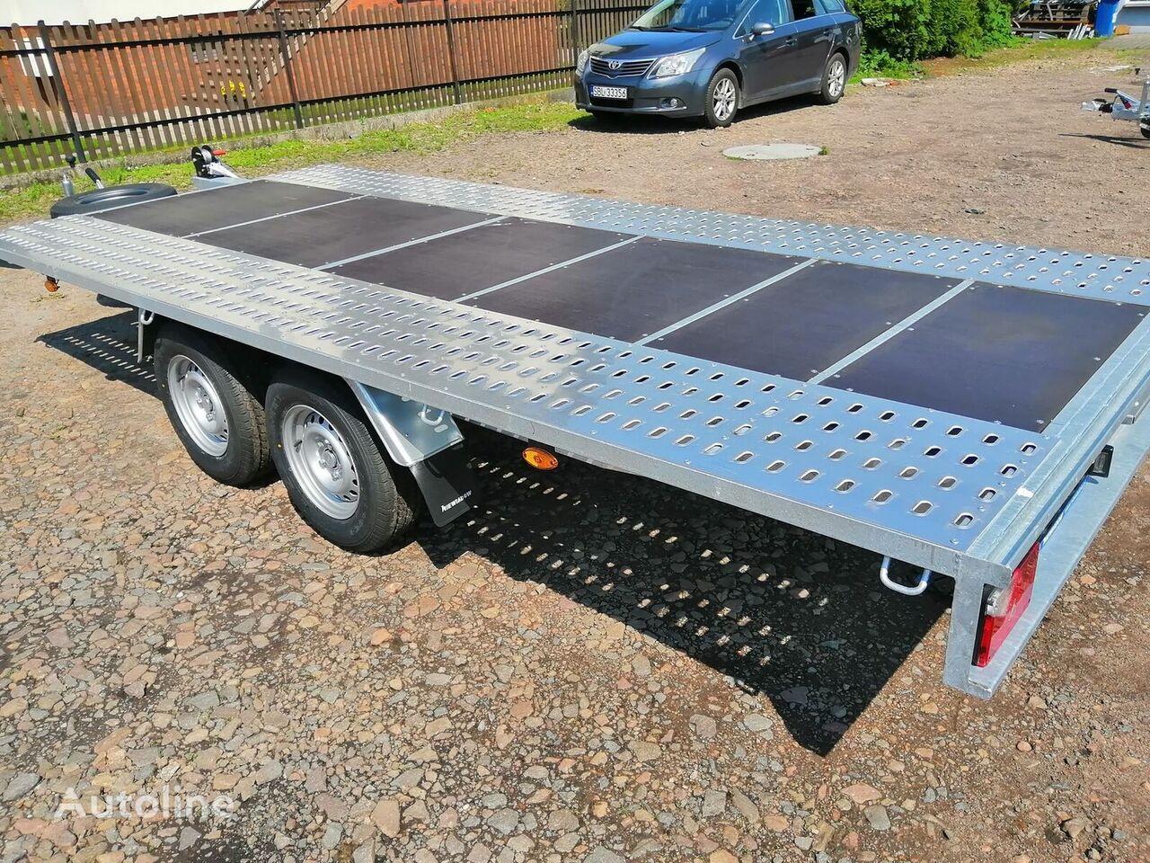 new NIEWIADOW Mars + plywood Poland Boro  car transporter trailer