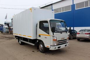 new JAC Промтоварный автофургон (европромка) на шасси JAC N56 box truck