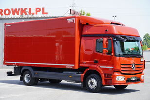 MERCEDES-BENZ Atego 1224, E6, 4x2, 6.10m container, GLOB cabin, retarder box truck