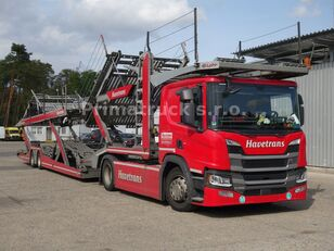 SCANIA P450 Járműszállító csörlővel  car transporter