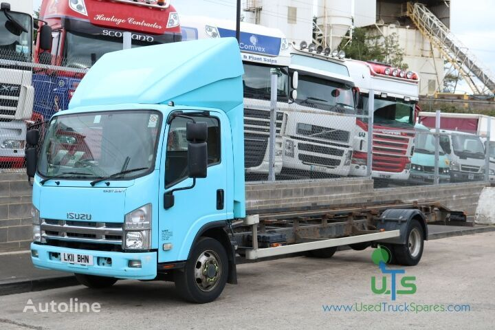 ISUZU N75 190  chassis truck for parts
