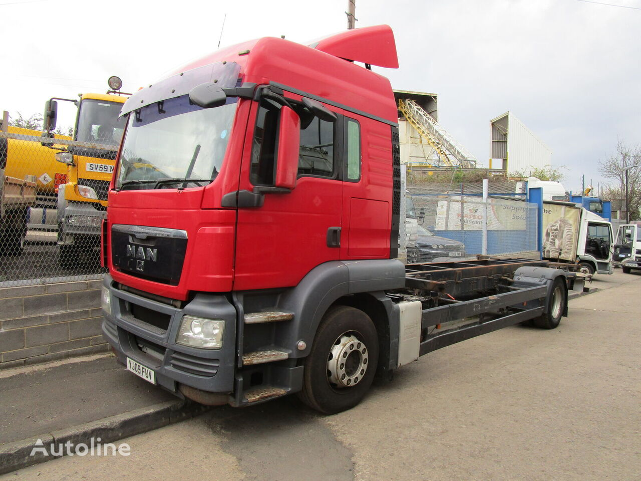 MAN TGS 360 chassis truck for parts
