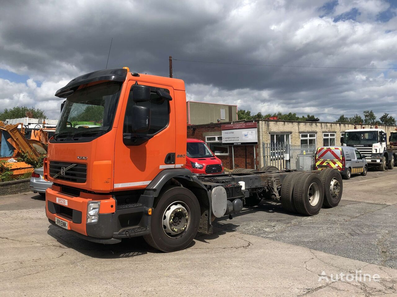 VOLVO FE 260 chassis truck