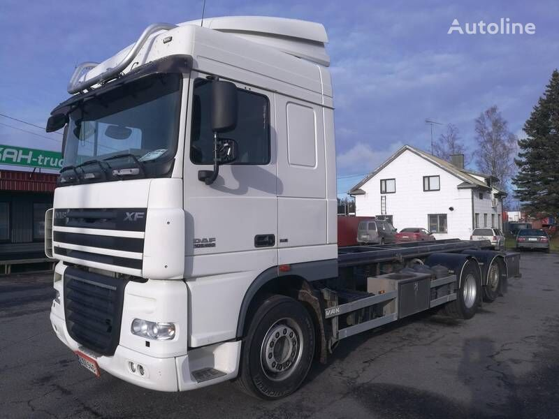 DAF XF105.460 container chassis
