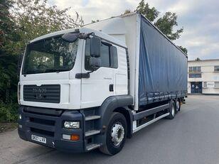 MAN TGA 26.320 curtainsider truck