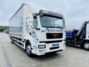 MAN TGM 18.250 , 21EP ADR TGL TGS TGX E5 oryginał 319000km , winda z curtainsider truck