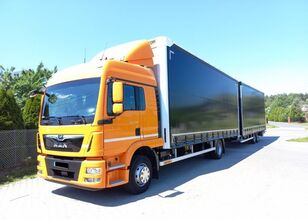 MAN TGM 15.290 Tandem Idealny curtainsider truck