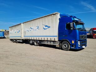 VOLVO FH 13 curtainsider truck + curtain side trailer