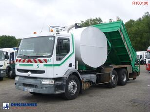 RENAULT Premium 340 6x2 Road repair bitumen tank 6 m3 / tipper dump truck