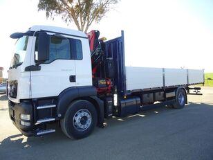 MAN TGS 18 320 flatbed truck