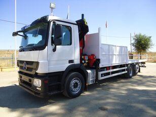 MERCEDES-BENZ actros 25 32 flatbed truck