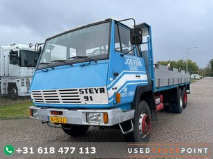 STEYR 1491.280 / 6X4 / First Owner / Top Condition / Full Steel / NL T flatbed truck