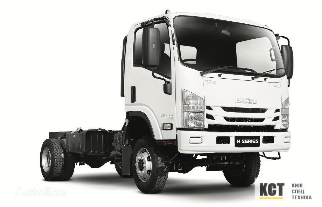 new ISUZU NPS 75H flatbed truck