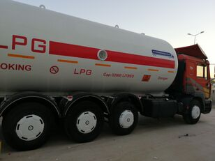 MAN TOP SYSTEM NEW BUILDED 32000L And 24000L LPG Bobtail LAST ONE IN gas truck