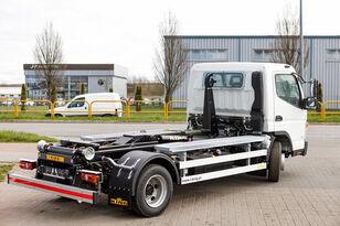 new Mitsubishi Fuso 9C18 AMT + KING HZ6R Hooklift hook lift truck