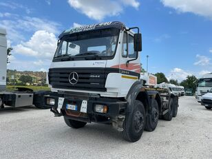 MERCEDES-BENZ 3544SK scarrabile 4 assi hook lift truck