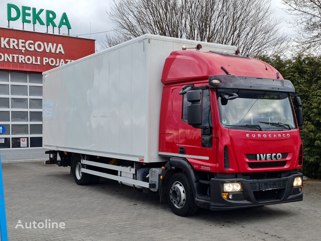 IVECO 12.250 isothermal truck