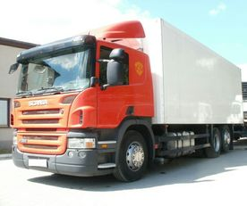 SCANIA P380 isothermal truck