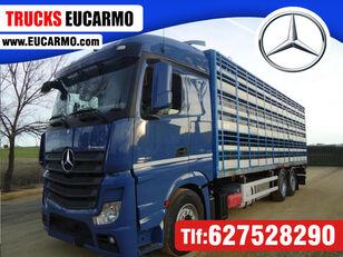 MERCEDES-BENZ ACTROS 2545 livestock truck