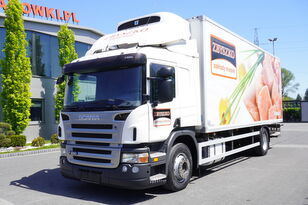 SCANIA P 280 , E5 , Meat hooks , 18 EPAL , tail lift 1500 kg  refrigerated truck