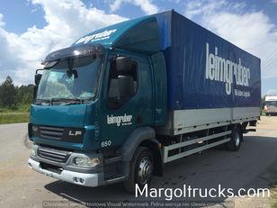 DAF LF 55 250 plandeka + winda Sprowadzony ze Szwajcarii tilt truck