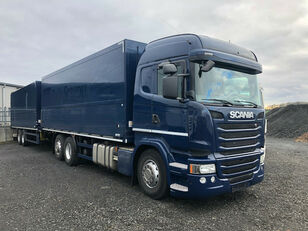 SCANIA R450 6x2 Italszállító Szerelvénnyel tilt truck + tilt trailer