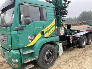 MAN Tga 26.480  6x4 Loglift 215Z timber truck
