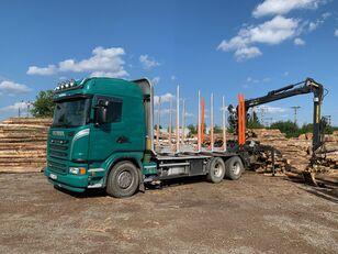 SCANIA G480 KRAN KESLA 2009SI timber truck