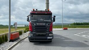 SCANIA R520 timber truck